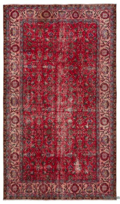 "Turkish Vintage Area Rug - 5'5"" x 9' (65 in. x 108 in.)"