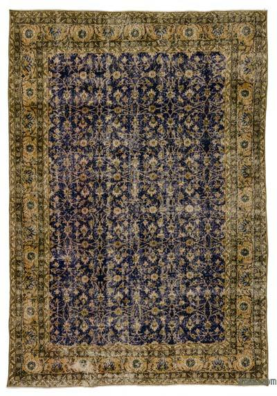 Turkish Vintage Area Rug - 7' x 10'5'' (84 in. x 125 in.)