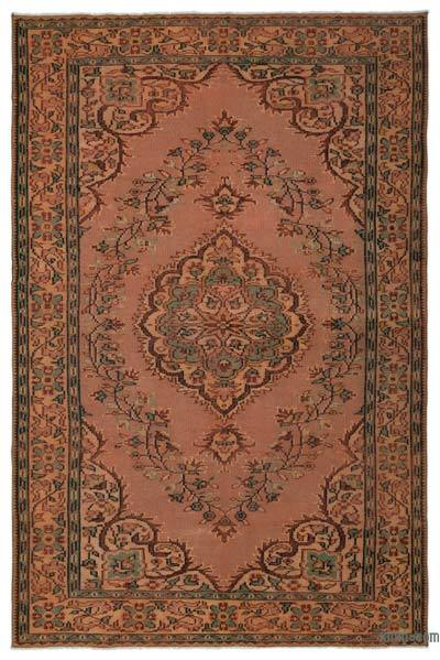 Turkish Vintage Rug - 6'2'' x 9'4'' (74 in. x 112 in.)