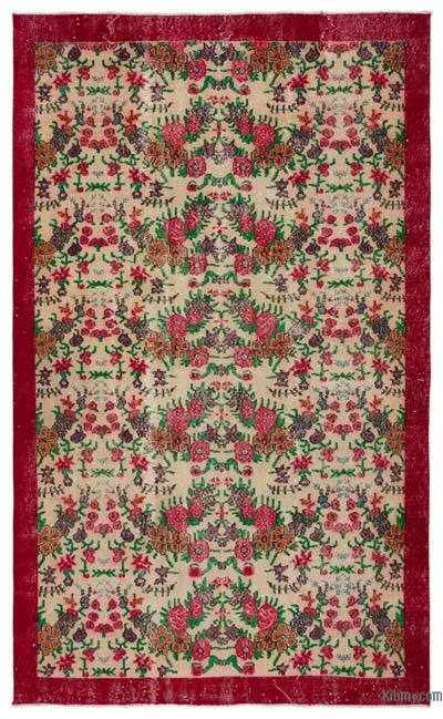 "Turkish Vintage Area Rug - 5'9"" x 9'6"" (69 in. x 114 in.)"