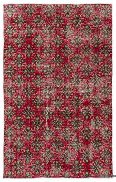 Turkish Vintage Area Rug - 5'1'' x 8'1'' (61 in. x 97 in.)