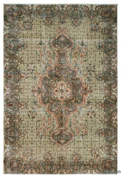 "Turkish Vintage Area Rug - 5'5"" x 8'2"" (65 in. x 98 in.)"