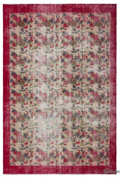 "Turkish Vintage Area Rug - 6'11"" x 10'5"" (83 in. x 125 in.)"