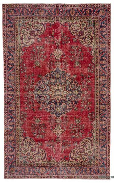 "Turkish Vintage Area Rug - 5'4"" x 8'7"" (64 in. x 103 in.)"