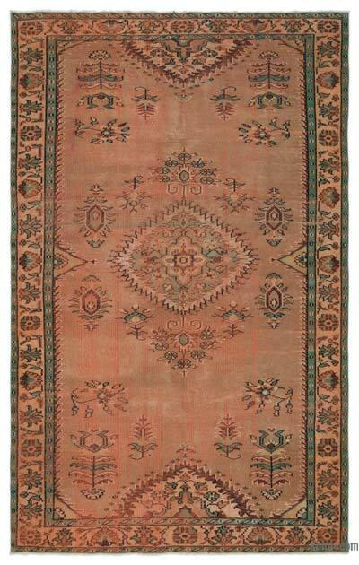 Turkish Vintage Rug - 5'10'' x 8'11'' (70 in. x 107 in.)