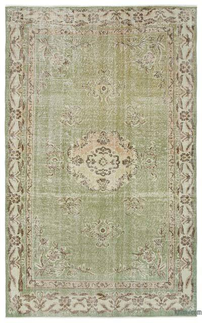 "Turkish Vintage Area Rug - 6'2"" x 9'11"" (74 in. x 119 in.)"