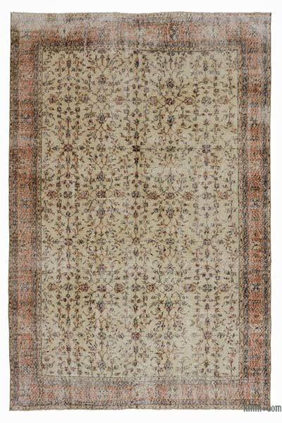 Turkish Vintage Rug - 6'9'' x 10'2'' (81 in. x 122 in.)