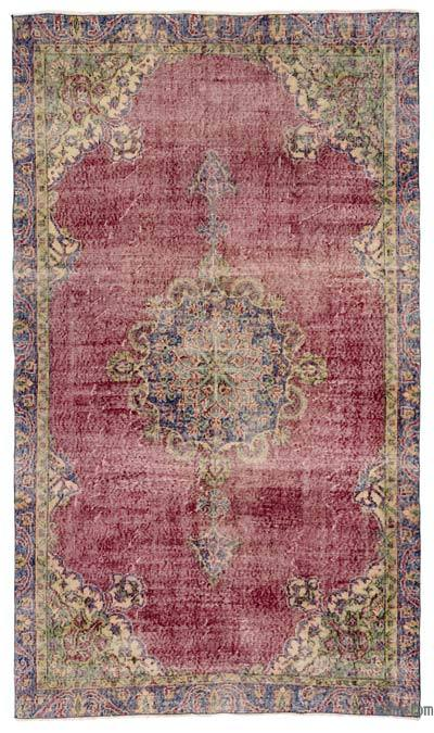 "Turkish Vintage Area Rug - 4'10"" x 8'4"" (58 in. x 100 in.)"