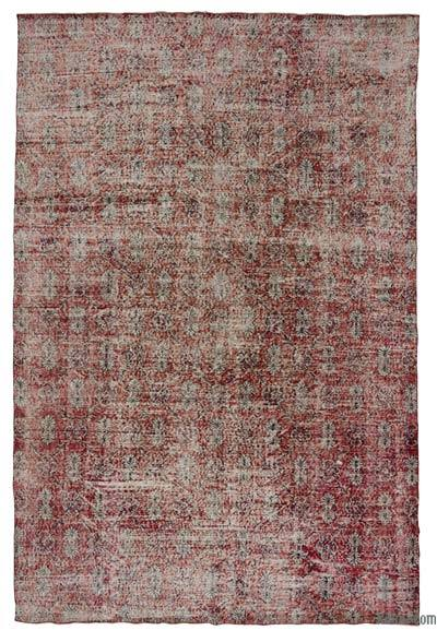 "Turkish Vintage Area Rug - 7'1"" x 10'10"" (85 in. x 130 in.)"