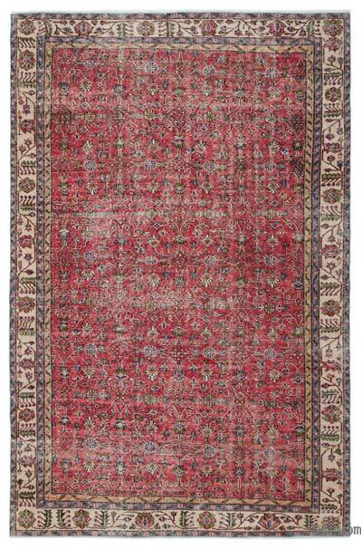 "Turkish Vintage Area Rug - 6'9"" x 10'1"" (81 in. x 121 in.)"
