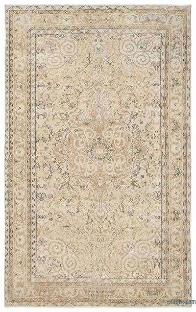 "Over-dyed Turkish Vintage Rug - 5'11"" x 9'7"" (71 in. x 115 in.)"