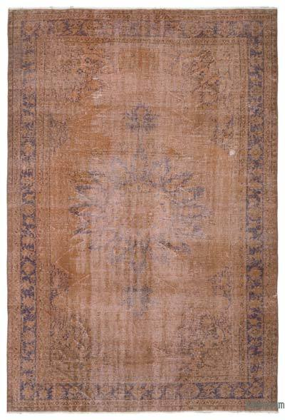 "Over-dyed Turkish Vintage Rug - 6'9"" x 10' (81 in. x 120 in.)"