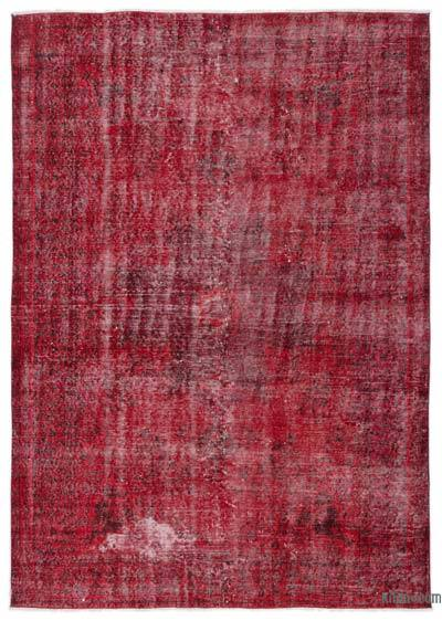 "Over-dyed Turkish Vintage Rug - 5'7"" x 7'10"" (67 in. x 94 in.)"