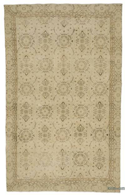 "Over-dyed Turkish Vintage Rug - 6' x 9'11"" (72 in. x 119 in.)"