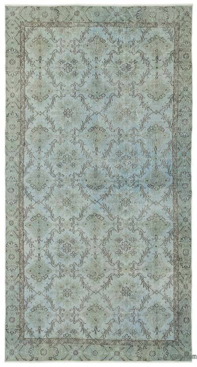 "Over-dyed Turkish Vintage Rug - 5' x 9'7"" (60 in. x 115 in.)"