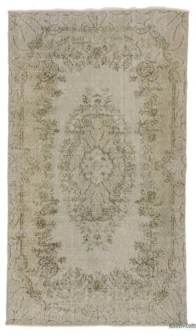 Over-dyed Turkish Vintage Rug - 4' x 7'1'' (48 in. x 85 in.)