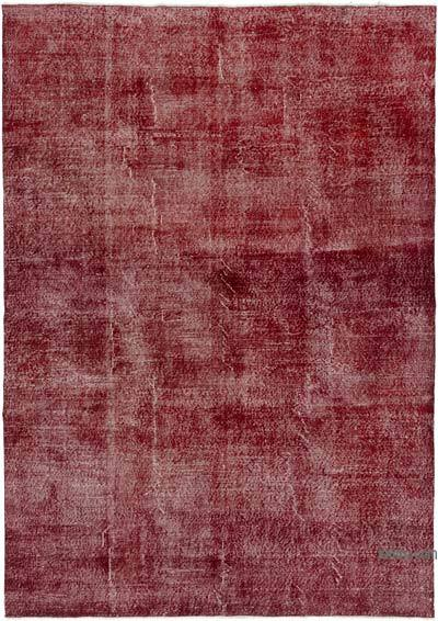 "Over-dyed Turkish Vintage Rug - 6'9"" x 9'9"" (81 in. x 117 in.)"