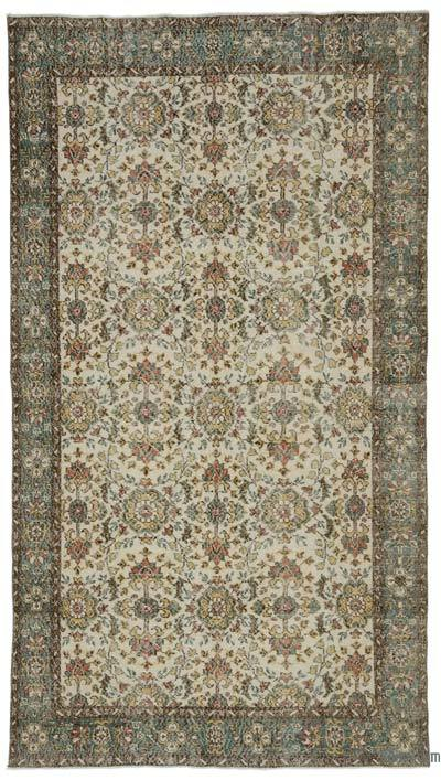 "Turkish Vintage Area Rug - 5'7"" x 10'1"" (67 in. x 121 in.)"