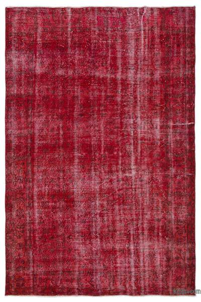 "Over-dyed Turkish Vintage Rug - 6' x 9'2"" (72 in. x 110 in.)"