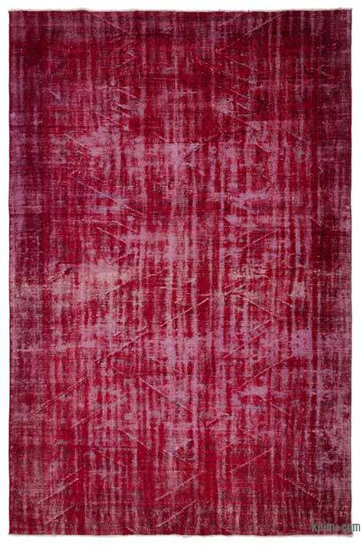 Over-dyed Turkish Vintage Rug - 6'10'' x 10'6'' (82 in. x 126 in.)