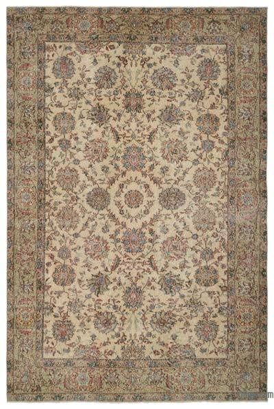"Turkish Vintage Area Rug - 7' x 10'5"" (84 in. x 125 in.)"