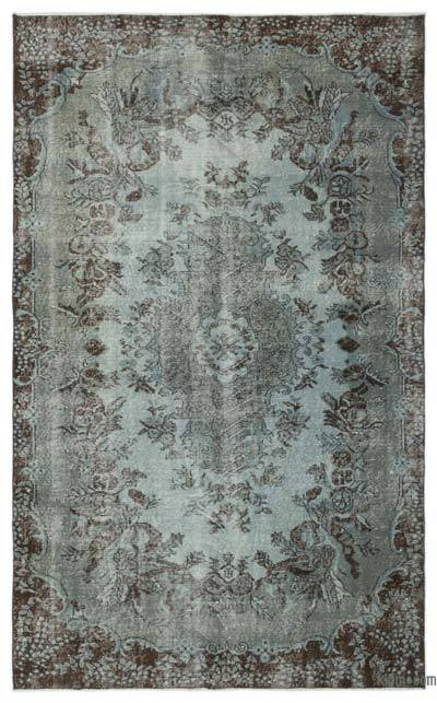 "Over-dyed Turkish Vintage Rug - 5'8"" x 9'1"" (68 in. x 109 in.)"