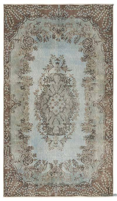 Over-dyed Turkish Vintage Rug - 4' x 6'11'' (48 in. x 83 in.)