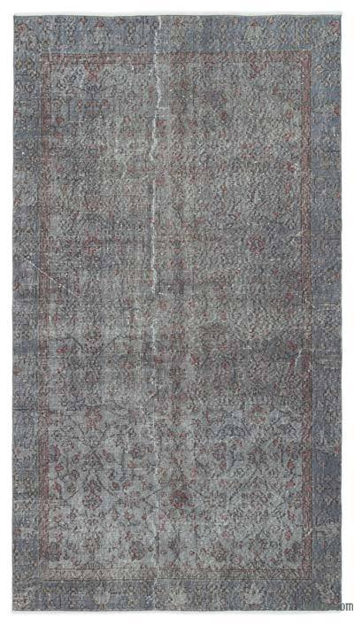 "Over-dyed Turkish Vintage Rug - 4'4"" x 8' (52 in. x 96 in.)"