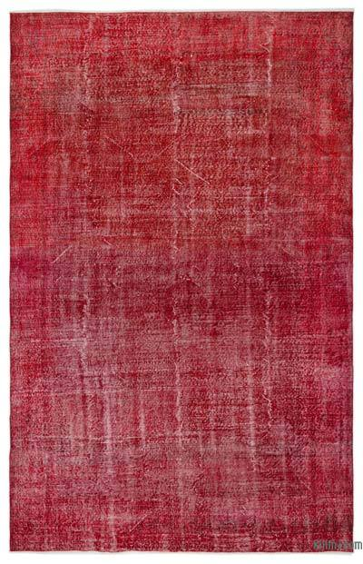 "Over-dyed Turkish Vintage Rug - 6'6"" x 10'2"" (78 in. x 122 in.)"
