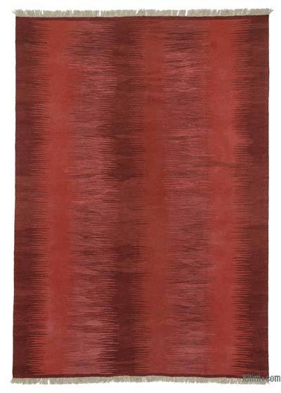 Red New Turkish Kilim Rug