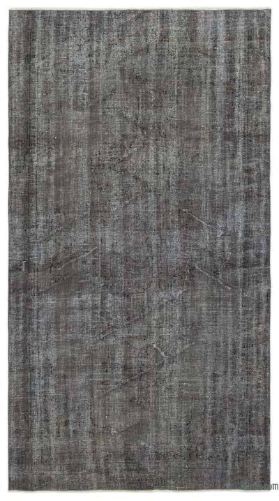 Over-dyed Turkish Vintage Rug - 4'8'' x 8'4'' (56 in. x 100 in.)