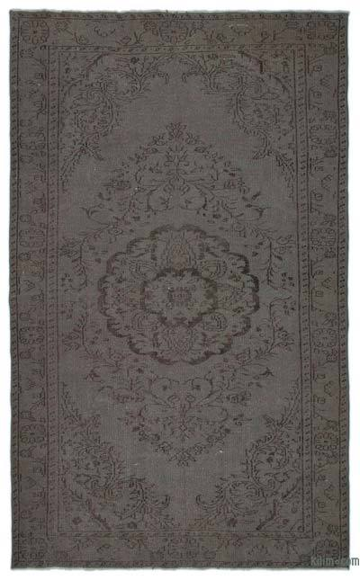 Over-dyed Turkish Vintage Rug - 5'11'' x 9'8'' (71 in. x 116 in.)