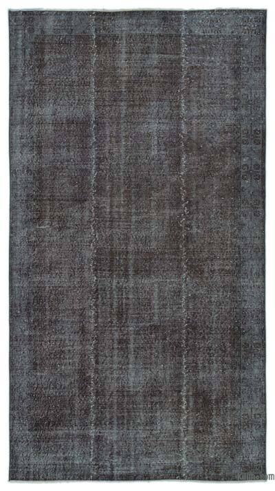 Over-dyed Turkish Vintage Rug - 5' x 9' (60 in. x 108 in.)