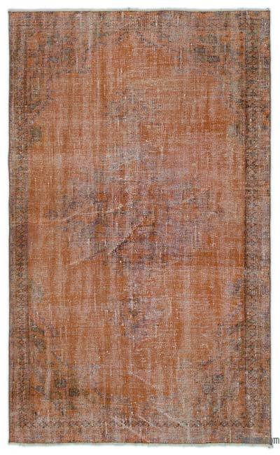 "Over-dyed Turkish Vintage Rug - 4'2"" x 6'9"" (50 in. x 81 in.)"
