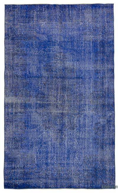"Over-dyed Turkish Vintage Rug - 5'4"" x 9' (64 in. x 108 in.)"