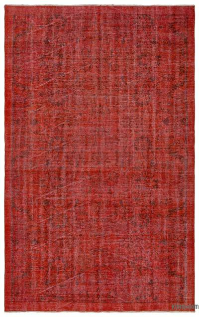 "Over-dyed Turkish Vintage Rug - 5'1"" x 8'3"" (61 in. x 99 in.)"