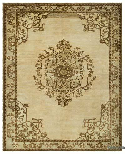 "Over-dyed Turkish Vintage Rug - 7'11"" x 9'8"" (95 in. x 116 in.)"