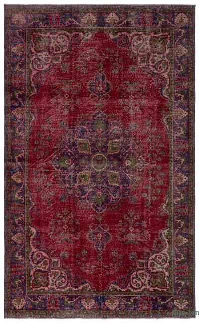 "Turkish Vintage Area Rug - 6'9"" x 11' (81 in. x 132 in.)"