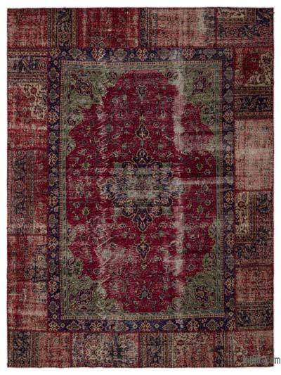 Turkish Patchwork Rug - 9' x 12' (108 in. x 144 in.)