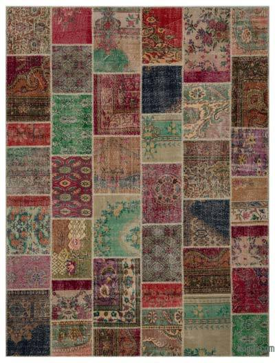 Turkish Patchwork Rug - 9' x 11'11'' (108 in. x 143 in.)