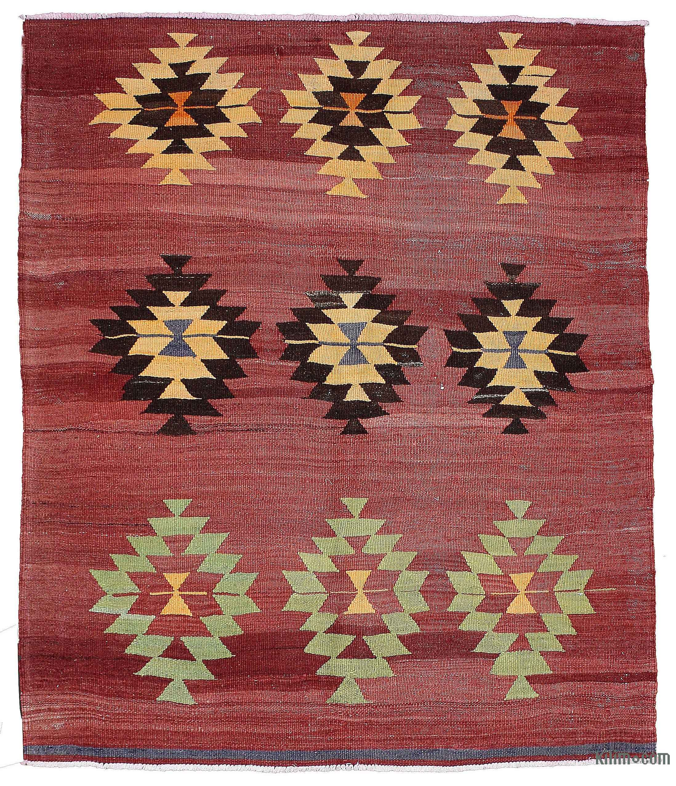 Kilim Rugs, Overdyed Vintage Rugs