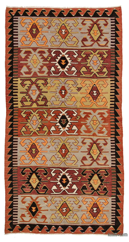Vintage Konya Kilim Rug 5 7 X 10 4 67 In 124