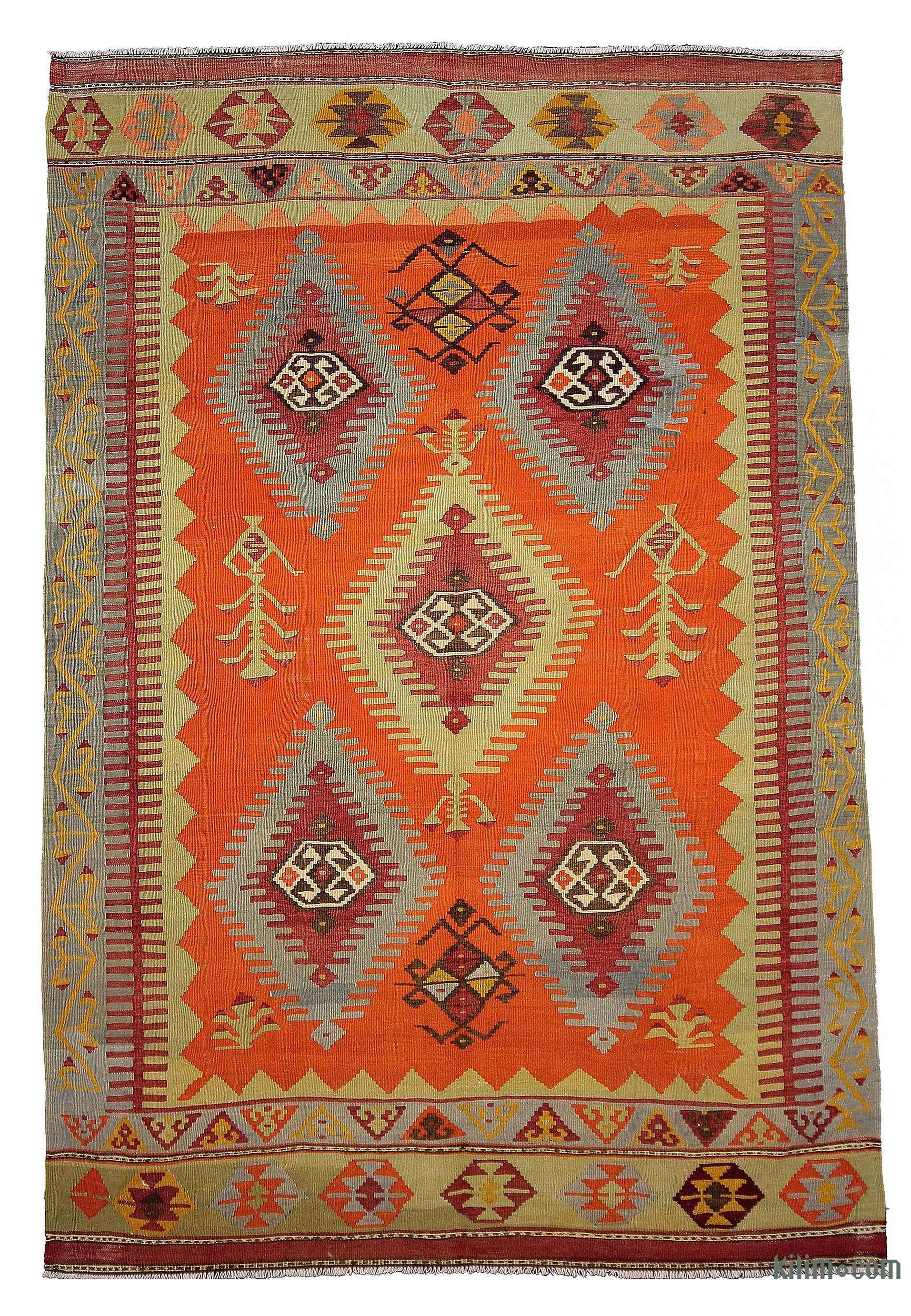 Kilim Rugs Overdyed Vintage Rugs Hand made Turkish Rugs
