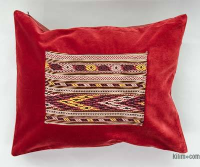 Kilim Pillow Cover - 1'8'' x 1'4'' (20 in. x 16 in.)