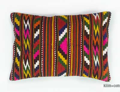 "Kilim Pillow Cover - 1'6"" x 1'1"" (18 in. x 13 in.)"