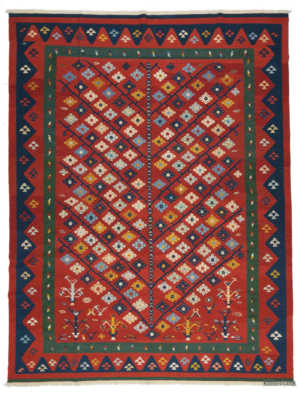 Handwoven Turkish Kilim Rug