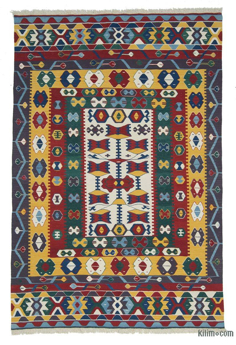 K0027685 Multicolor New Turkish Kilim Rug