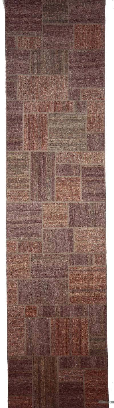 "Kilim Patchwork Runner - 2'7"" x 10'5"" (31 in. x 125 in.)"