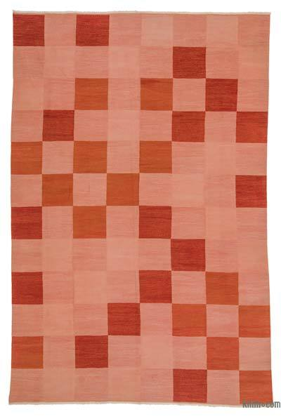"New Turkish Kilim Rug - 7'8"" x 11'8"" (92 in. x 140 in.)"