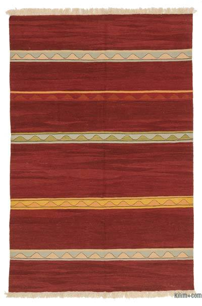 "New Handwoven Turkish Kilim Rug - 5'11"" x 8'10"" (71 in. x 106 in.)"